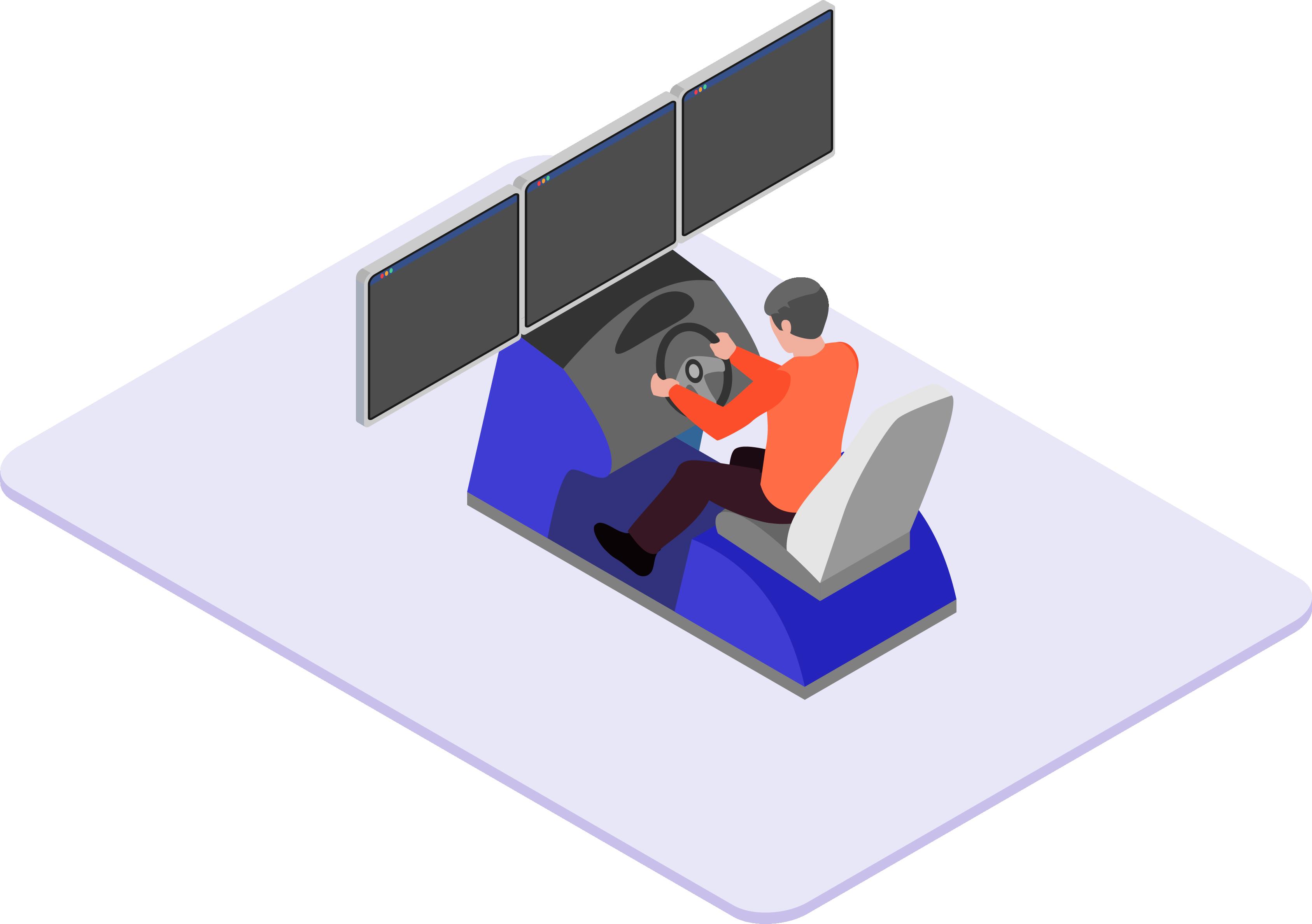 Eco Conduite Sur Simulateur - Risques Routiers Sur Simulateur