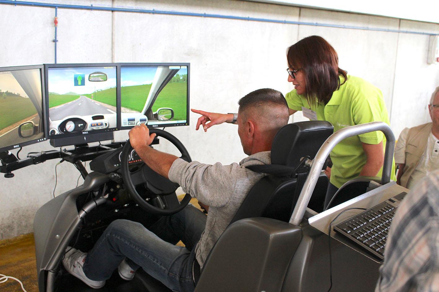 Atelier simulateur d'eco conduite
