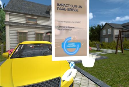 Atelier réalité virtuelle sécurité routière