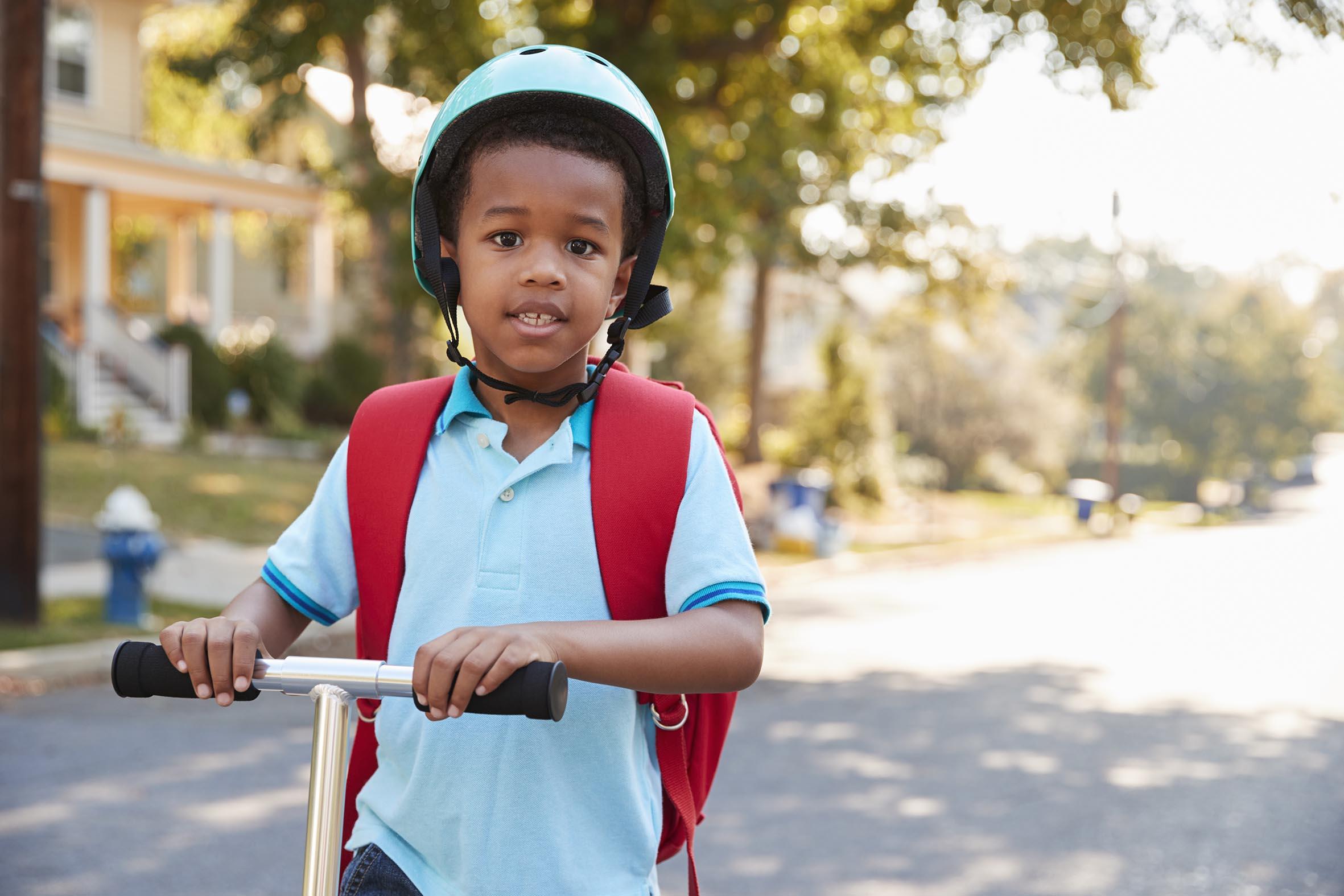 Atelier prévention routière pour école